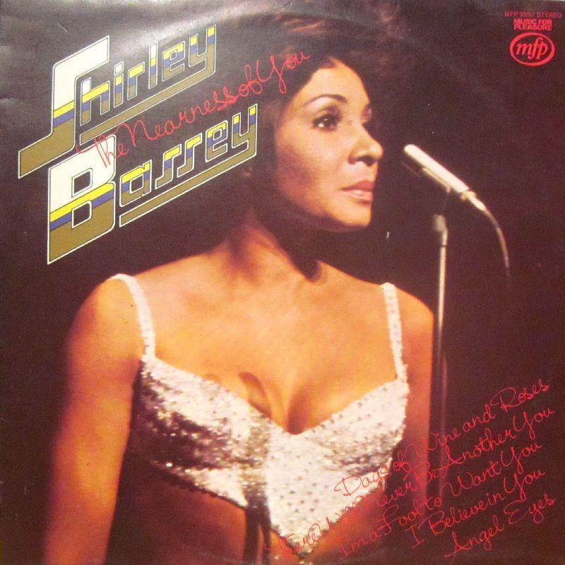 Shirley Bassey-The Nearness Of You-Music For Pleasure-Vinyl LP
