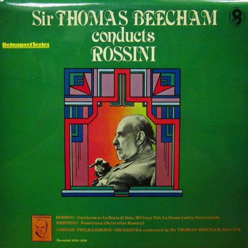 Sir Thomas Beecham-Conducts Rossini-World Record Club-Vinyl LP