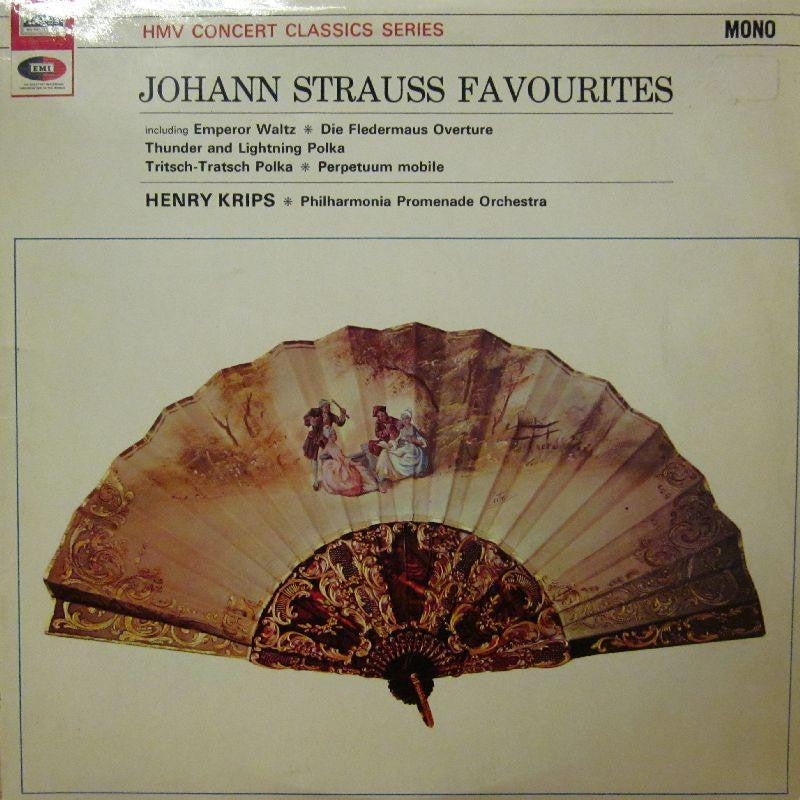 Strauss-Favourites-HMV-Vinyl LP