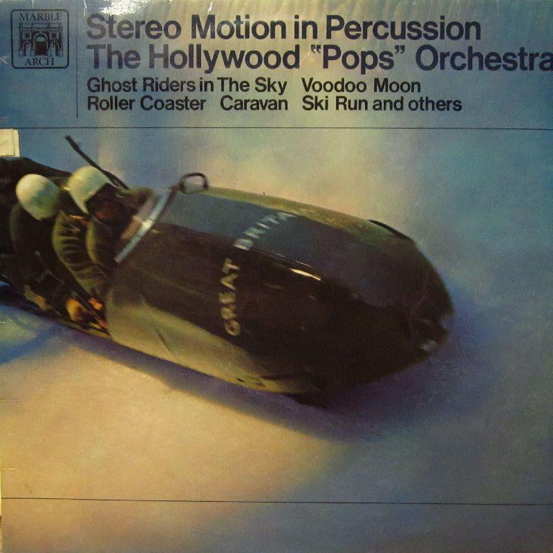 The Hollywood Pops Orchestra-Motion In Percussion-Marble Arch-Vinyl LP