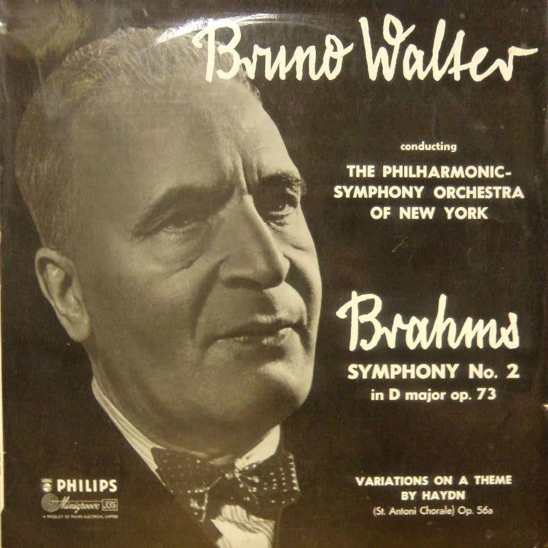 Brahms-Symphony No.2-Philips-Vinyl LP