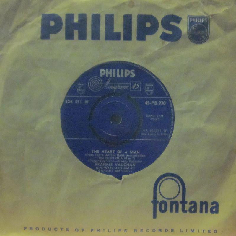 "Frankie Vaughan-The Heart Of A Man-Philips-7"" Vinyl"