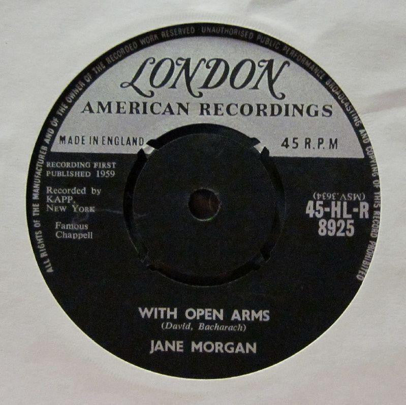 "Jane Morgan-With Open Arms-London-7"" Vinyl"