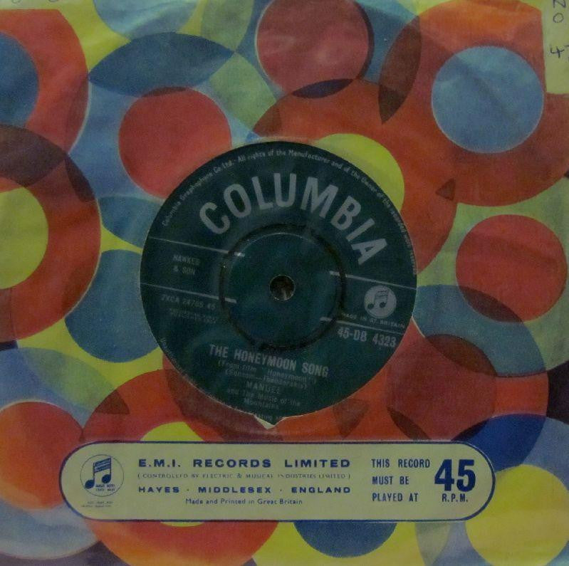 "Manuel-The Honeymoon Song-Columbia-7"" Vinyl"