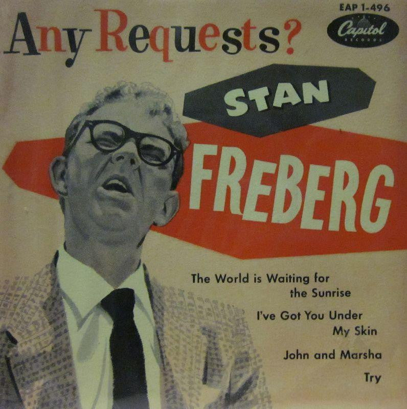 "Stan Freberg-Any Requests-Capitol-7"" Vinyl"