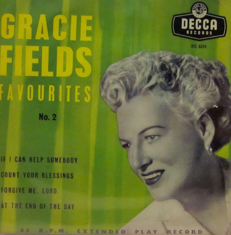 "Gracie Fields-Favourites No 2-Decca-7"" Vinyl"