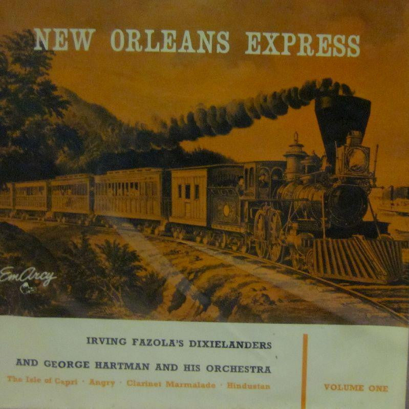 "D J Shortcut-New Orleans Express Vol. One-Orange Label-7"" Vinyl"