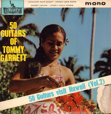 "Tommy Garrett-50 Guitars Vol.2 EP-Liberty-7"" Vinyl P/S"