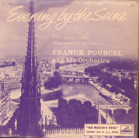 "Franck Pourcel-Evening By The Seine EP-HMV-7"" Vinyl P/S"