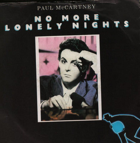 "No More Lonely Nights-Parlophone-7"" Vinyl P/S"