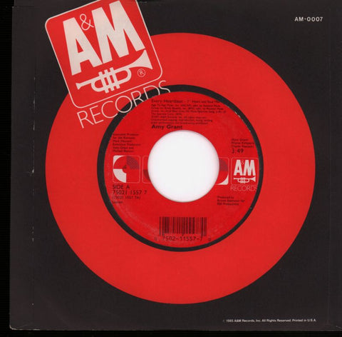 "Every Heartbeat-A&M-7"" Vinyl"