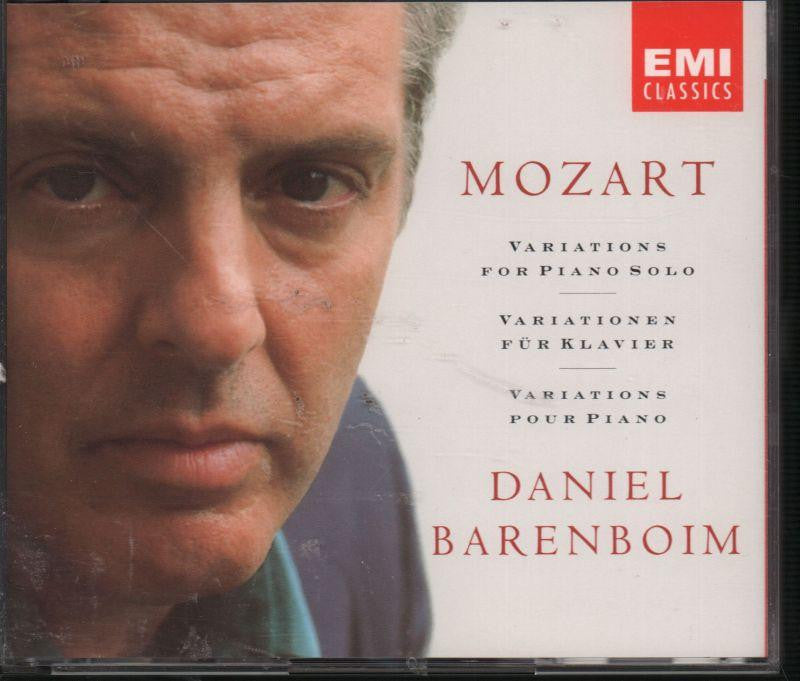 Daniel Barenboim-Mozart: Variations For Pian-CD Album