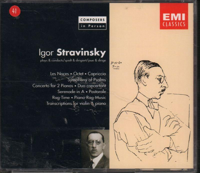 Stravinsky-Les Noces-CD Album