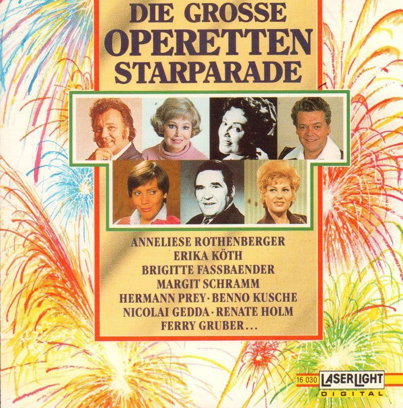 Various Classical-Die Grosse Operetten Starparade-CD Album