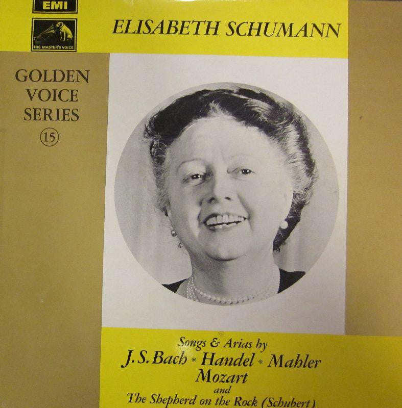 Elisabeth Schumann-Golden Voice Series No.15-HMV/EMI-Vinyl LP