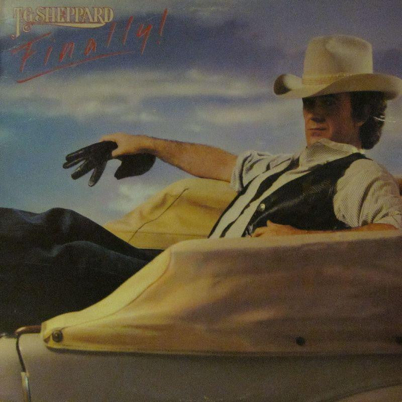T.G Sheppard-Finally!-Warner Bros-Vinyl LP