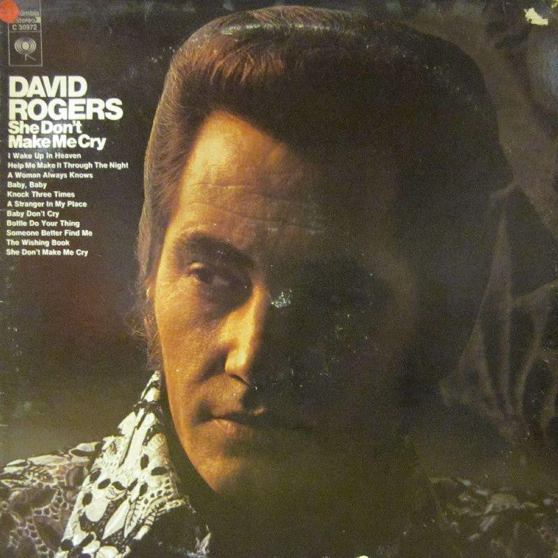 David Rogers-She Don't Make Me Cry-Columbia-Vinyl LP