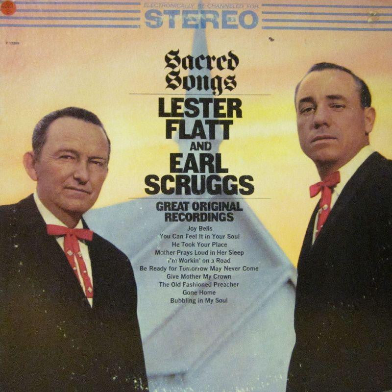 Lester Flatt-Sacred Songs-Columbia Special Products-Vinyl LP