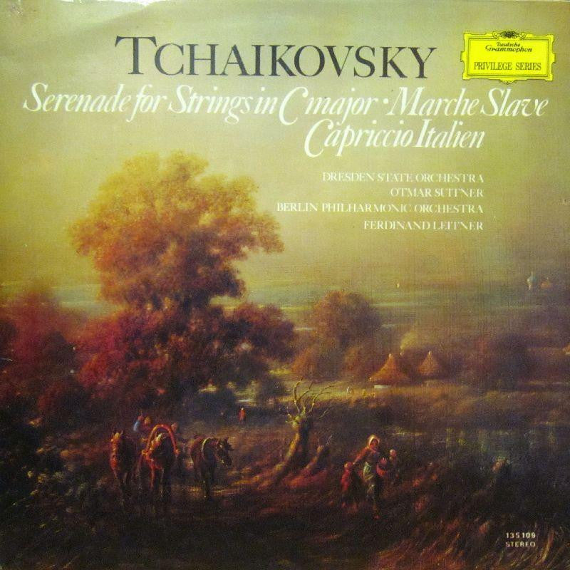 Tchaikovsky-Serenade For Strings-Deutsche Grammophon-Vinyl LP