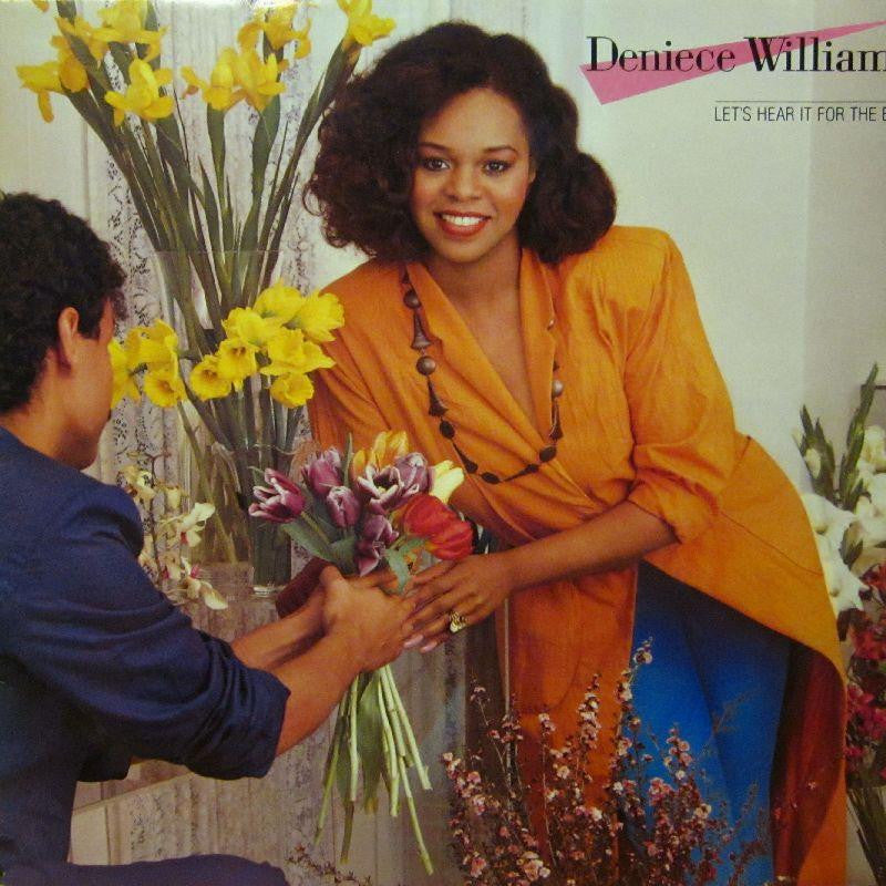 Deniece Williams-Let's Hear For The Boys-CBS-Vinyl LP