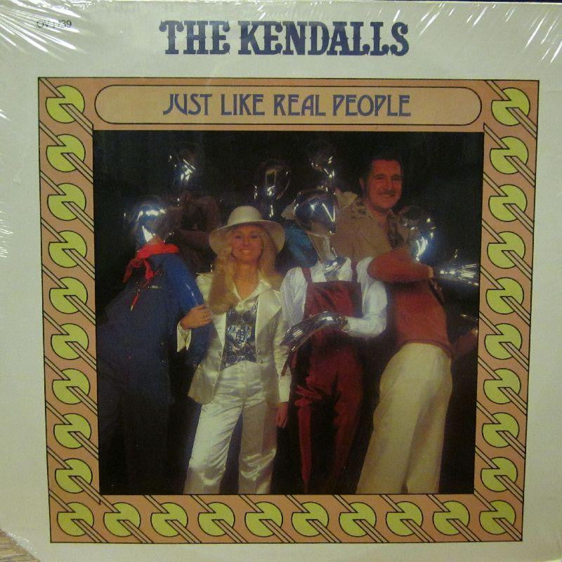 The Kendalls-Just Like Real People-Ovation-Vinyl LP