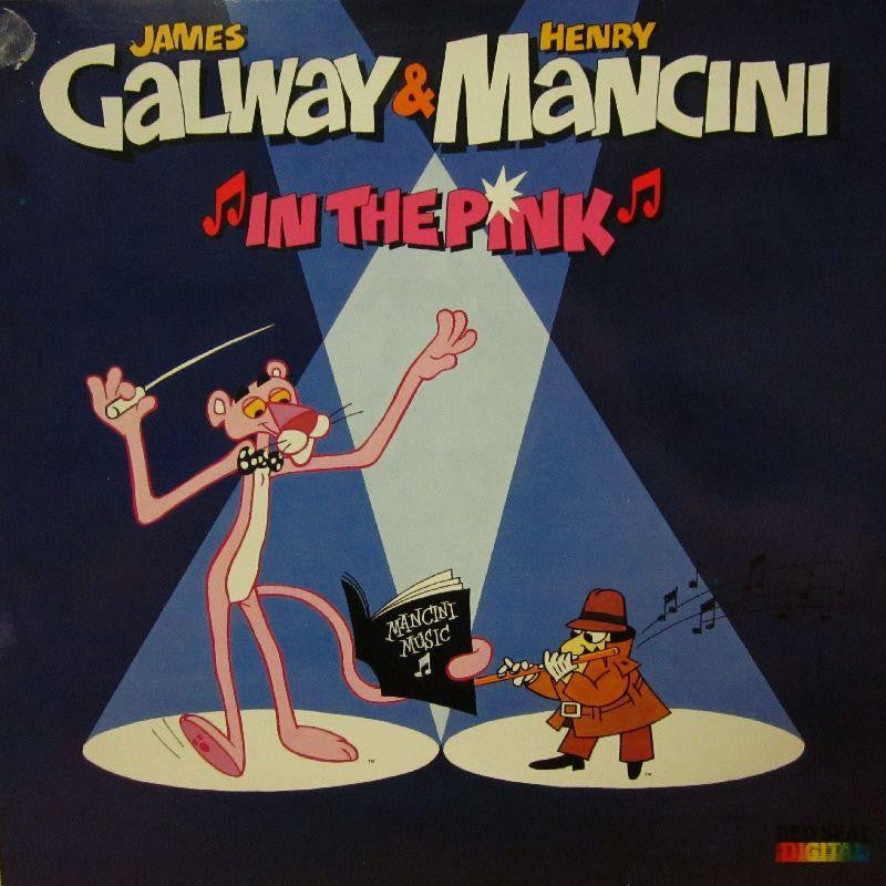 James Galway/Henry Mancini-In The Pink-RCA-Vinyl LP