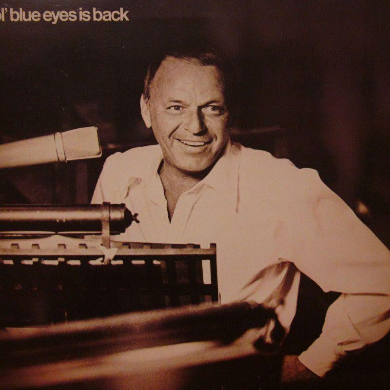 Frank Sinatra-Ol' Blue Is Back-Reprise-Vinyl LP Gatefold