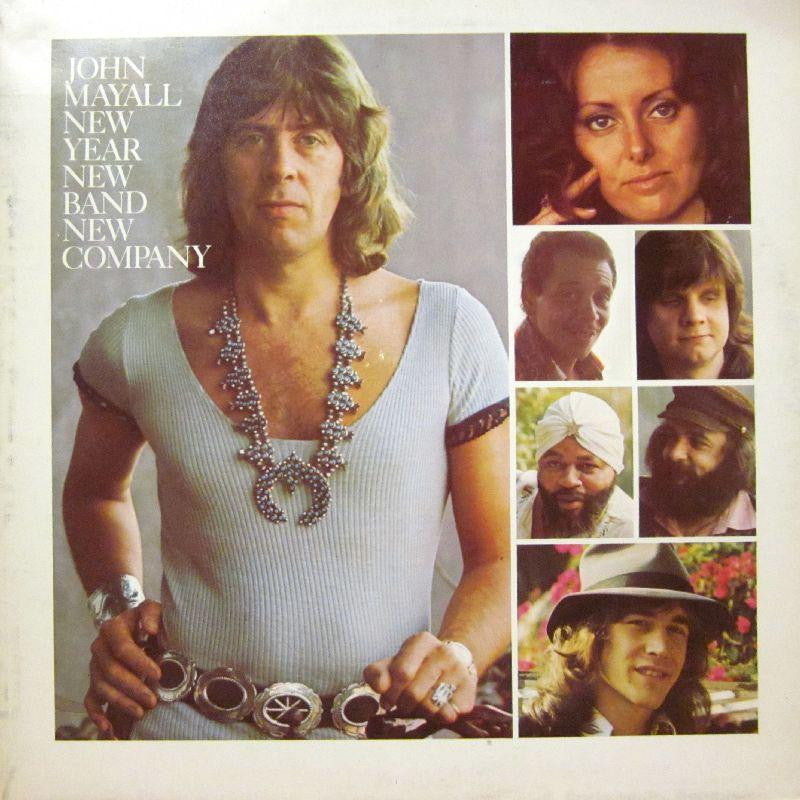 John Mayall-New Year New Band New Company-abc-Vinyl LP Gatefold