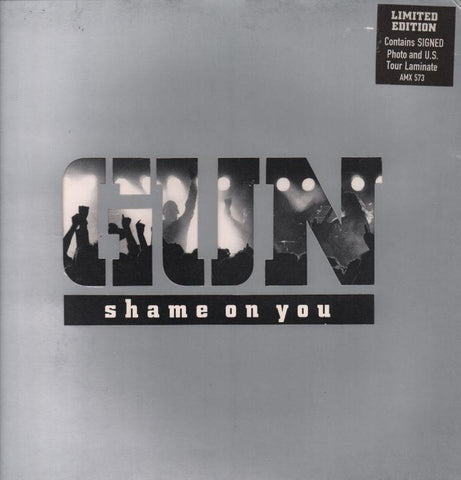 "Gun-Shame On You-A&M-12"" Vinyl Gatefold"