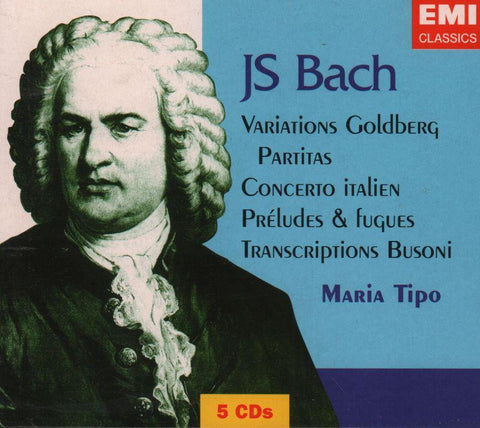 Bach-Variations, Goldberg-CD Album