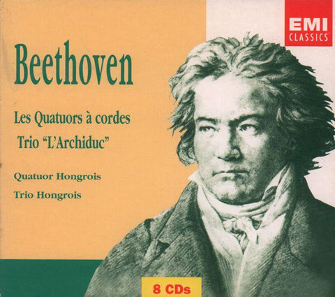 Beethoven-String Quartets Nos 1-16, Piano Trio-CD Album