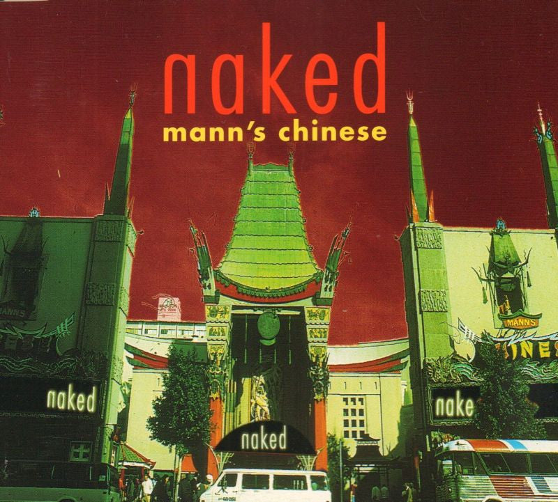 Naked-Mann's Chinese-CD Single