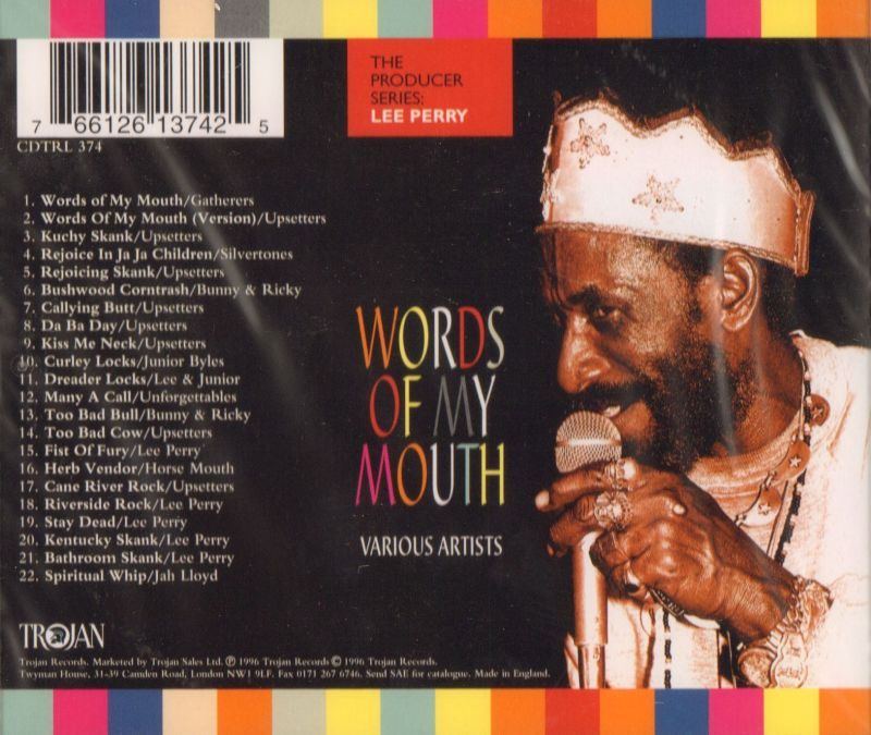 Words Of My Mouth-Trojan-CD Album-New & Sealed