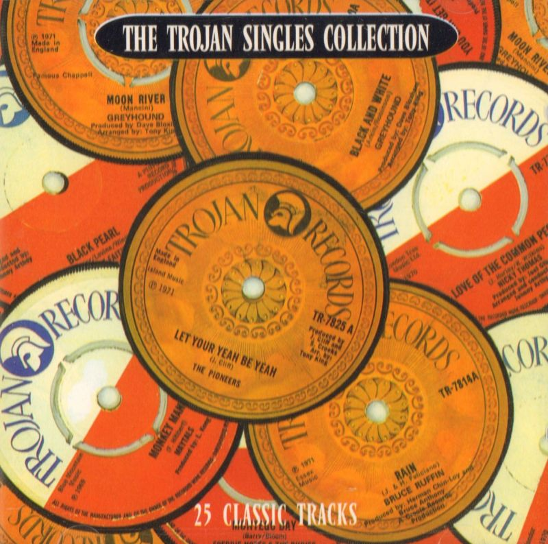 The Trojan Singles Collection-Trojan-CD Album