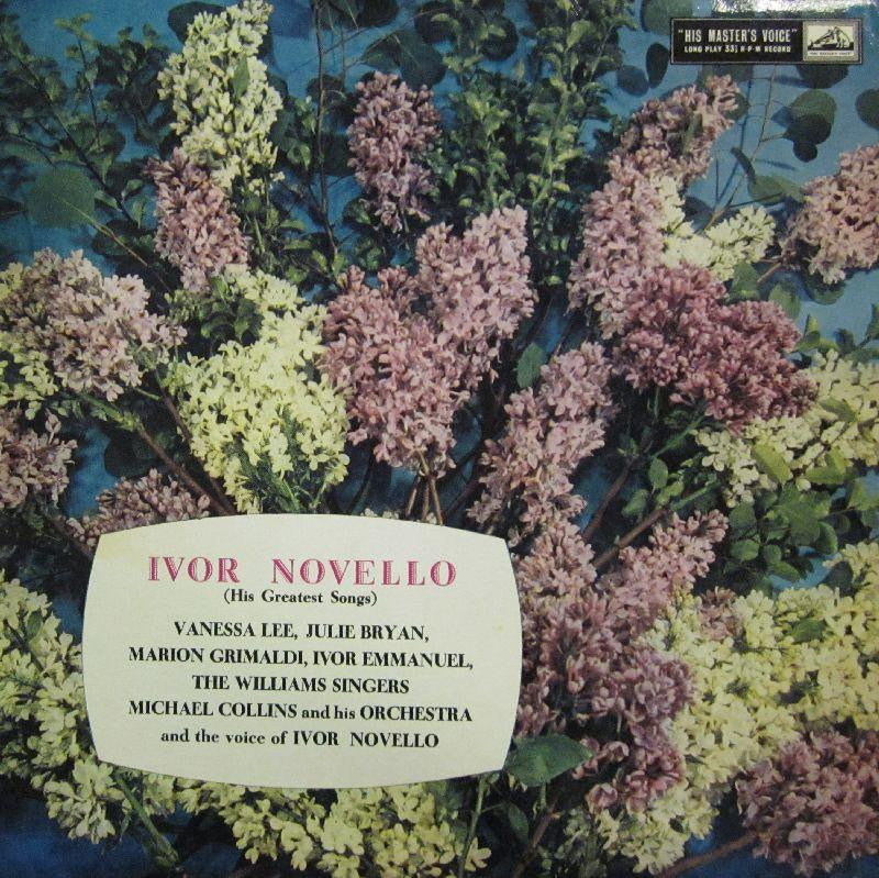 Ivor Novello-His Greatest Songs-HMV/EMI-Vinyl LP