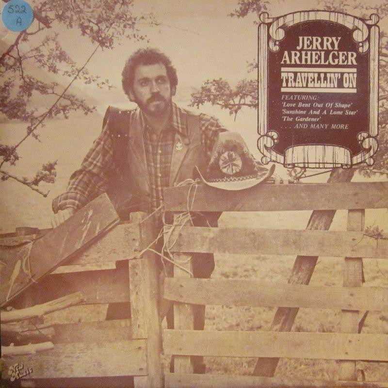 Jerry Arhelger-Travellin' On-New Music Enterprise-Vinyl LP