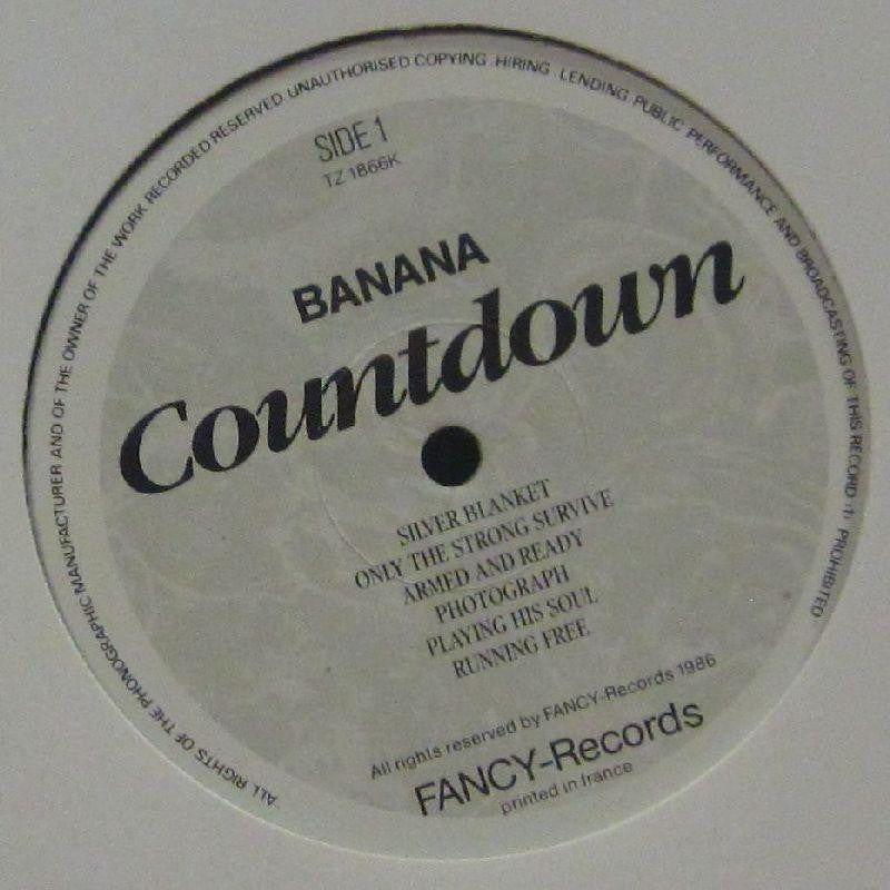 "Banana-Countdown-Fancy-12"" Vinyl"
