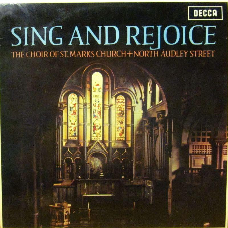 The Choir of St Marks Church-Sing And Rejoice-Decca-Vinyl LP