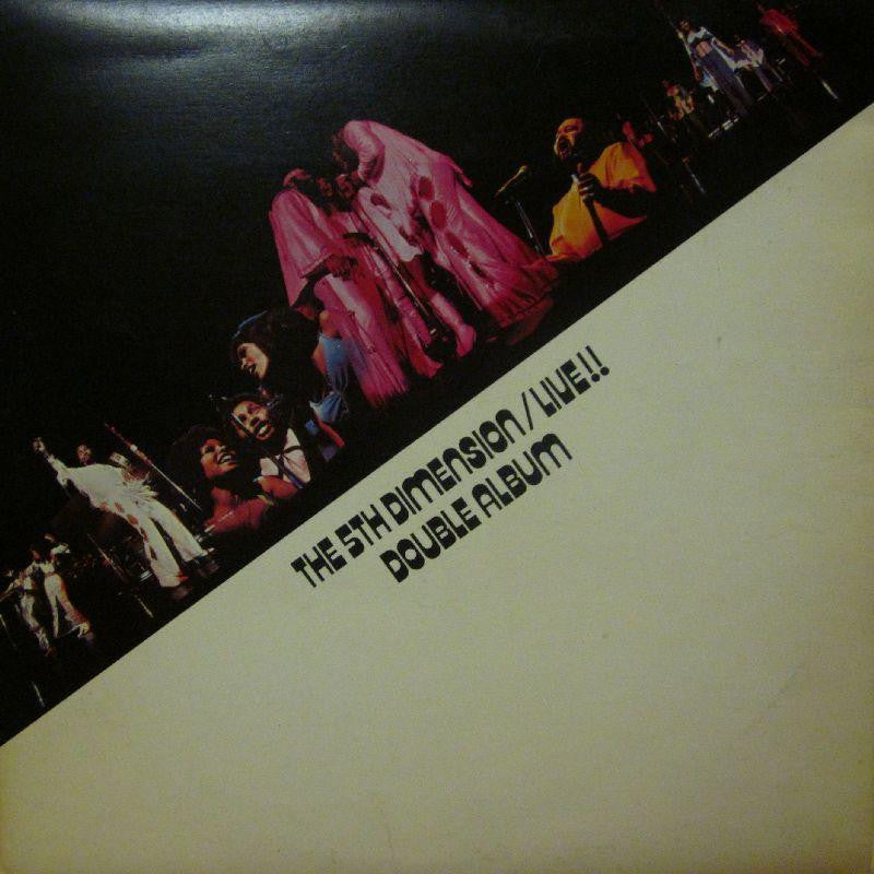 "The 5th Dimension-Live-Bell-2x12"" Vinyl LP Gatefold"