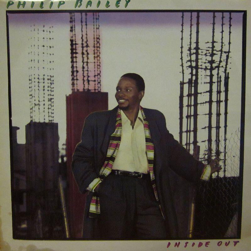 Philip Bailey-Inside Out-CBS-Vinyl LP