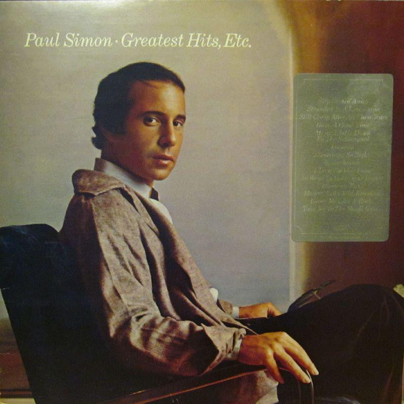 Paul Simon-Greatest Hits Etc.-CBS-Vinyl LP Gatefold