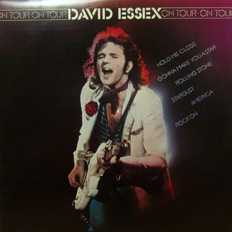 "David Essex-On Tour-CBS-2x12"" Vinyl LP Gatefold"