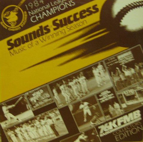 National League Champions-Sounds Of Success-San Diego-Vinyl LP