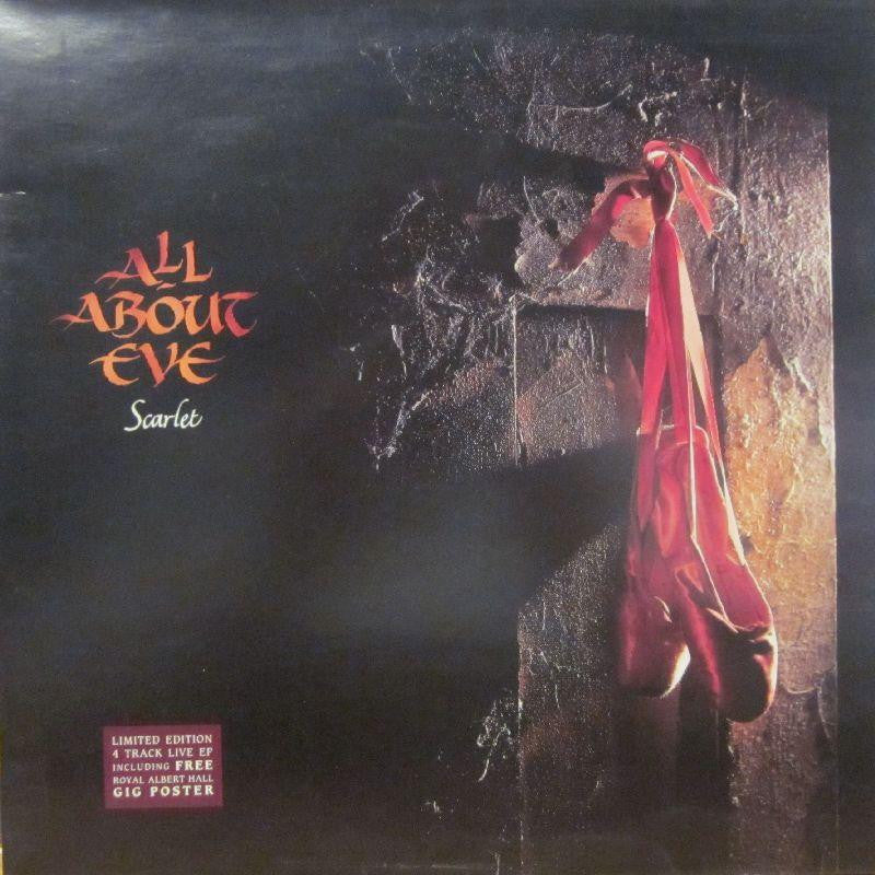 "All About Eve-Scarlet E.P-Mercury-12"" Vinyl Gatefold"