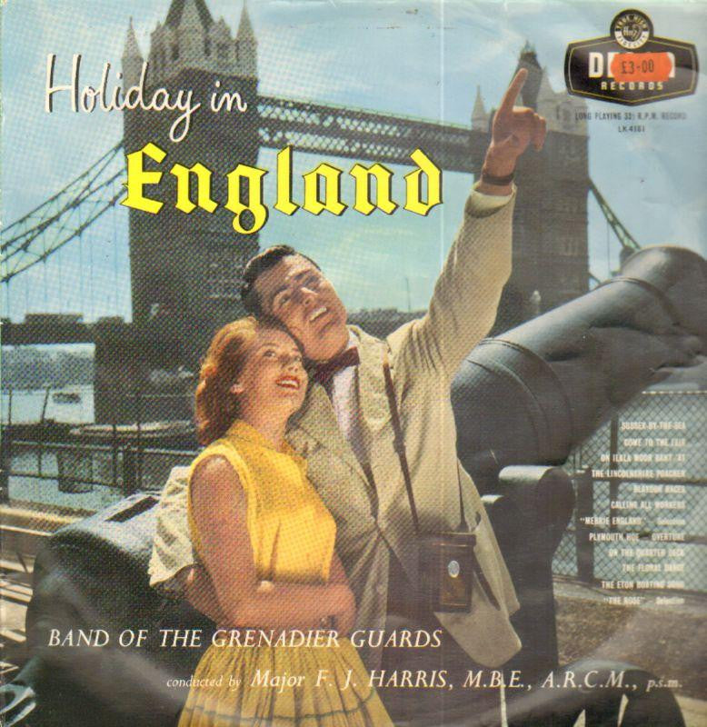 Band of The Grenadier Guards-Holiday In England-Decca-Vinyl LP