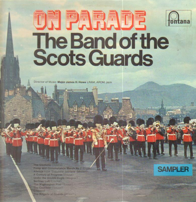 The Band of The Scots Guards-On Parade-Fontana-Vinyl LP