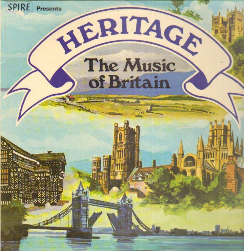 "Various Classical-Heritage: The Music Of Britain-Spire-2x12"" Vinyl LP Gatefold"