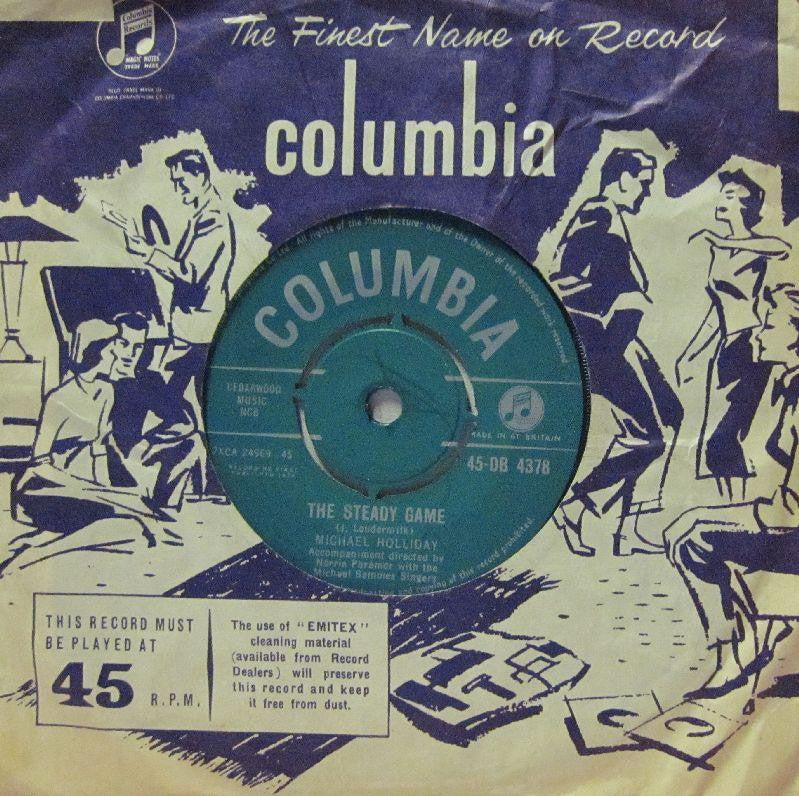 "Michael Holliday-The Steady Game-Columbia-7"" Vinyl"