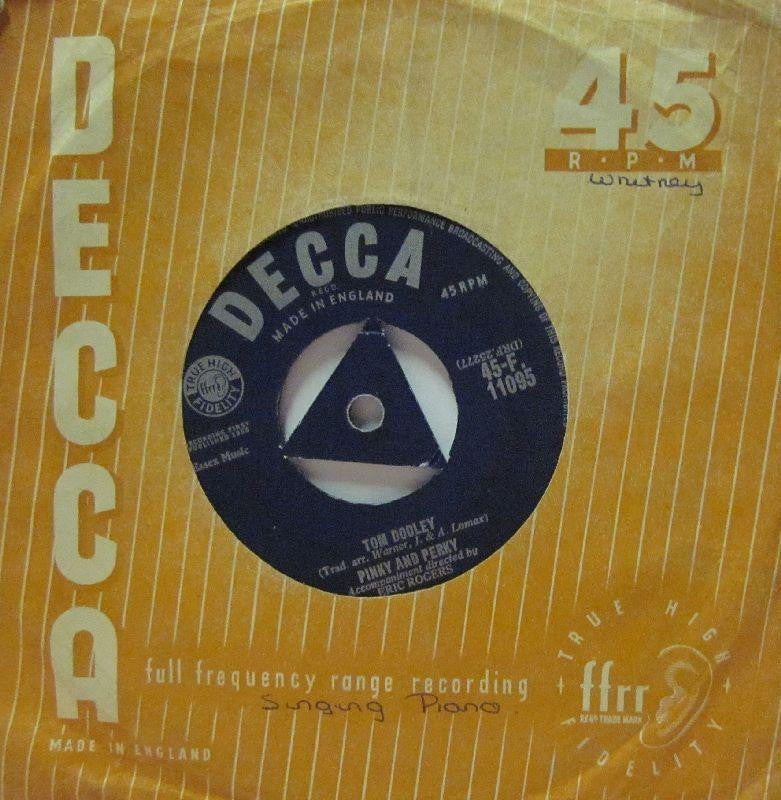 "Pinky & Perky-Tom Dooley/The Velvet Glove-Decca-7"" Vinyl"