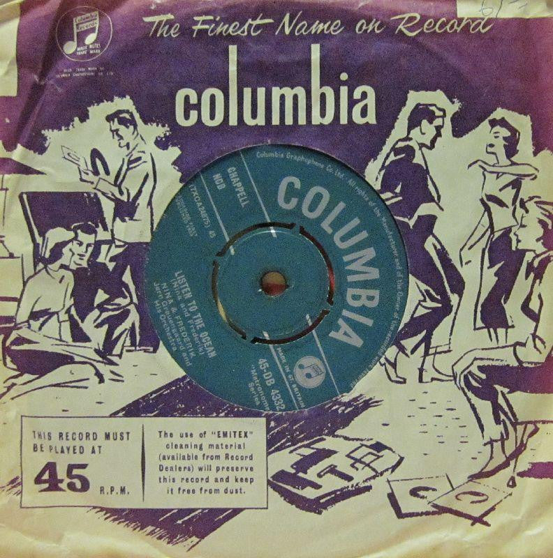"Nina & Frederik-Listen To The Ocean-Columbia-7"" Vinyl"